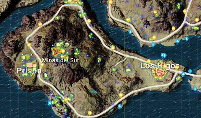 7 Lokasi Pendaratan Terbaik di Map Miramar PUBG - Kincir