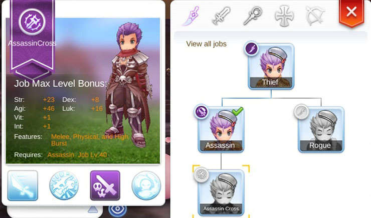 Panduan Build Job Assassin Cross di Ragnarok M: Eternal Love