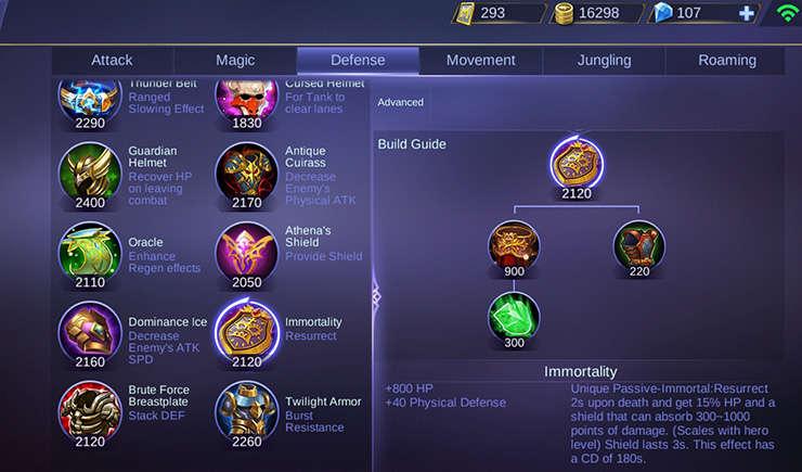 Mobile Legends) Perubahan Item di Patch 1 3 88 - Kincir
